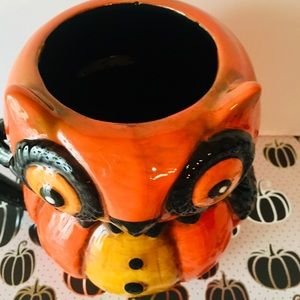 transpac Holiday - Halloween Owl Mug Jparker by Transpac Big Eyes